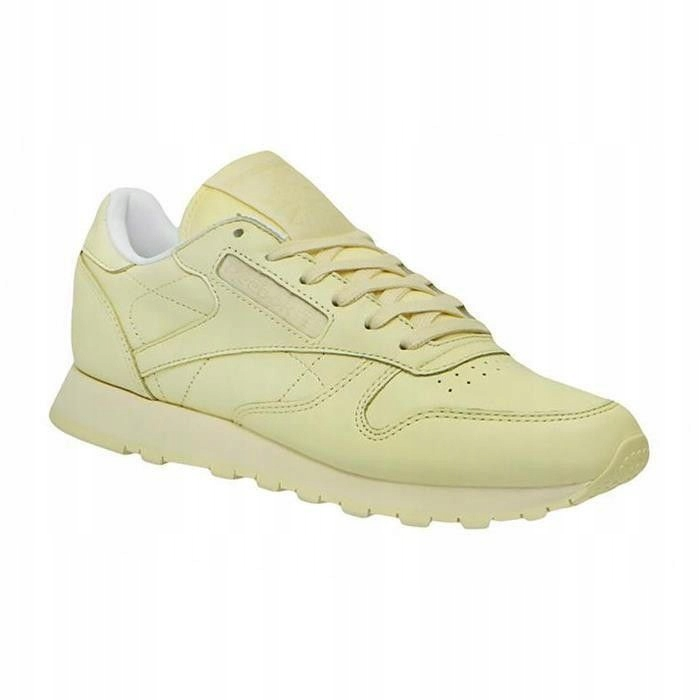 45cee692 BUTY REEBOK CL LTHR PASTELS WASHED YELLOW 38 - 7358663262 ...