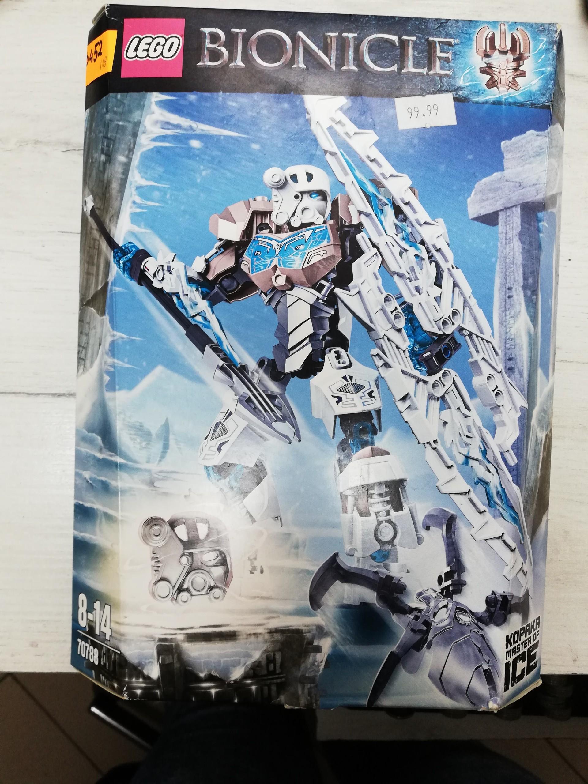 Lego Bionicle 70788 Kopaka Władca Lodu 345218 7436986527