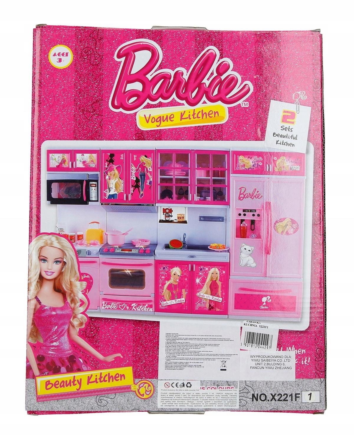 Zabawka Kuchnia Dla Lalki Barbie 7460323443 Oficjalne Archiwum