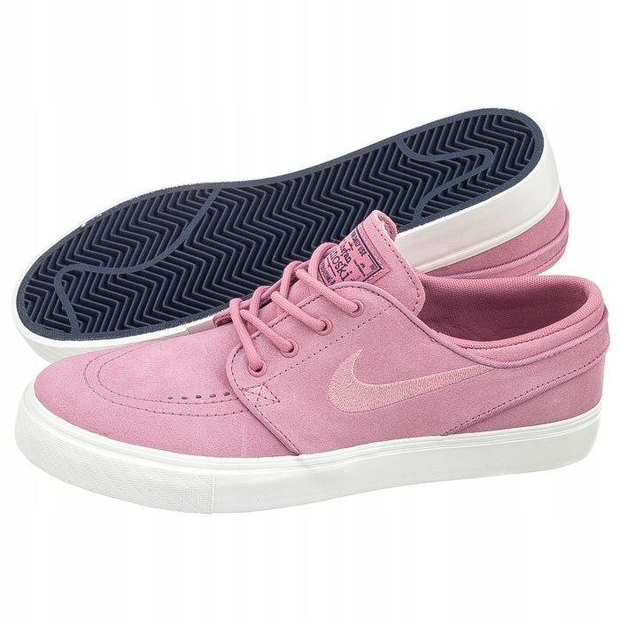 ponadczasowy design całkowicie stylowy przytulnie świeże Buty Nike Stefan Janoski (GS) 525104-603 Różowe - 7771738629 ...