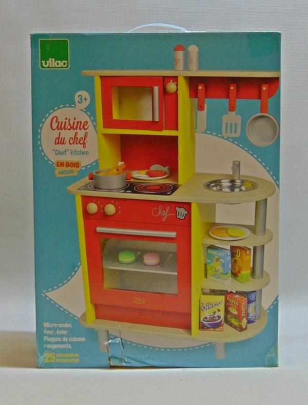 Kuchnia Drewniana Vilac 6194 Akcesoria 7238615803 Oficjalne