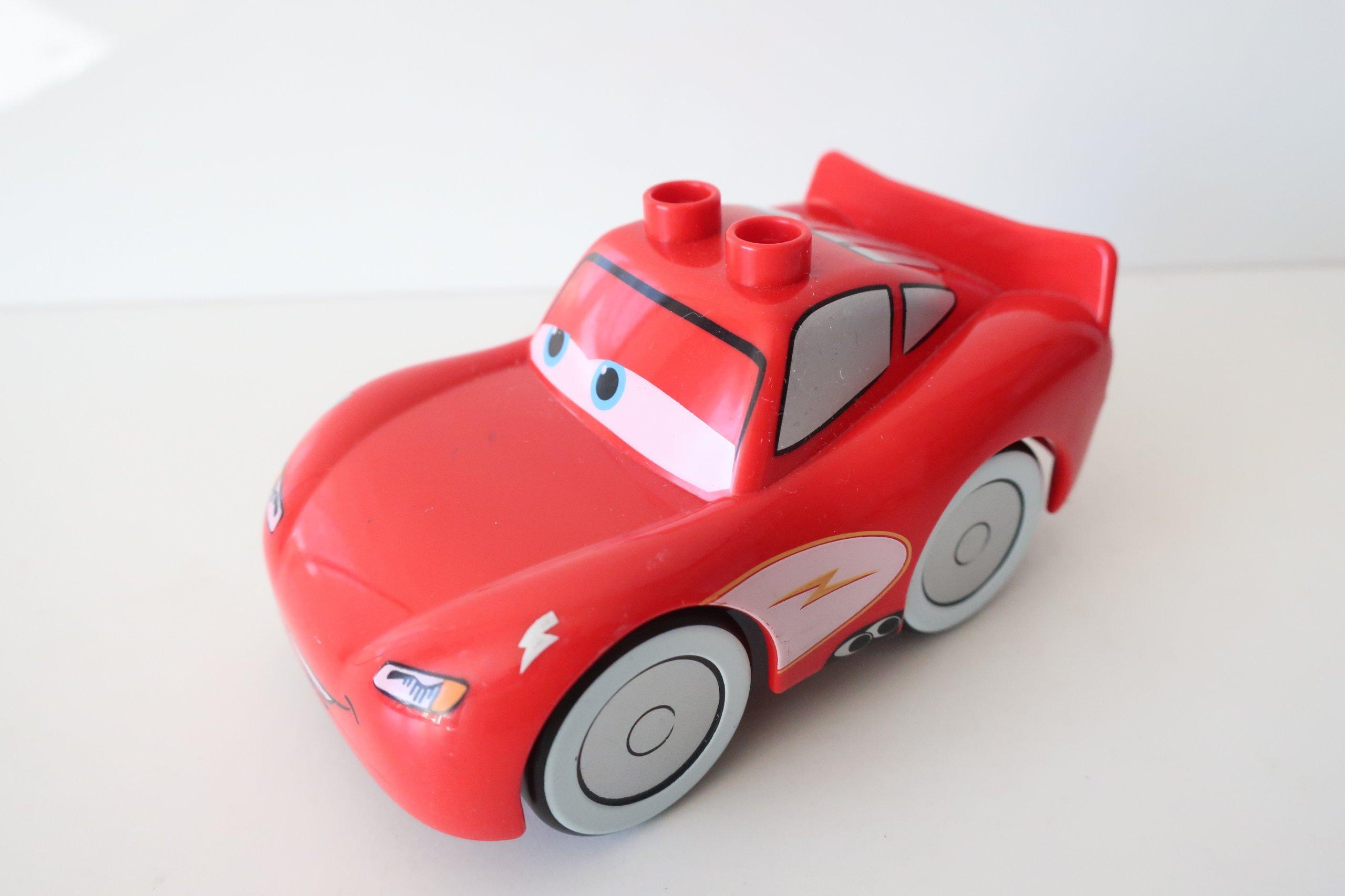 Kt Lego Duplo Autko Mcqueen Zygzak Z Bajki Cars 7422312770