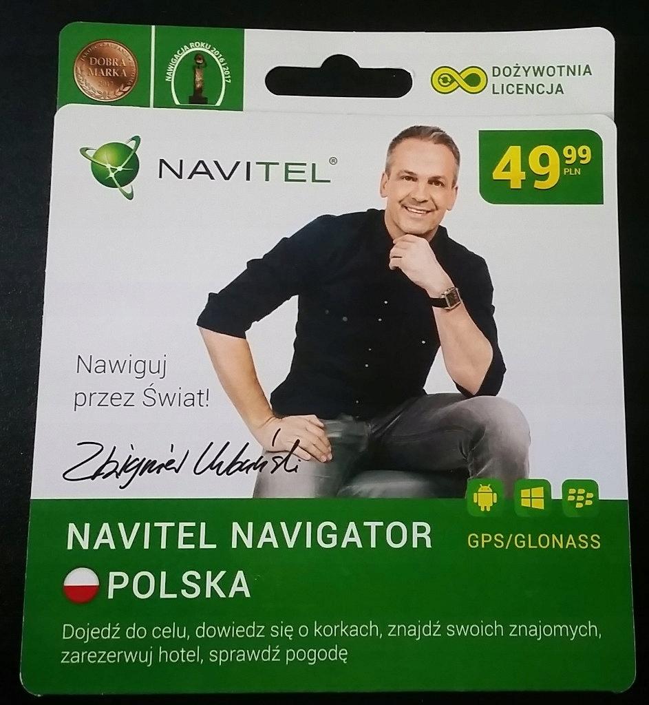 Nawigacja Navitel Navigator Polska dożywotnia