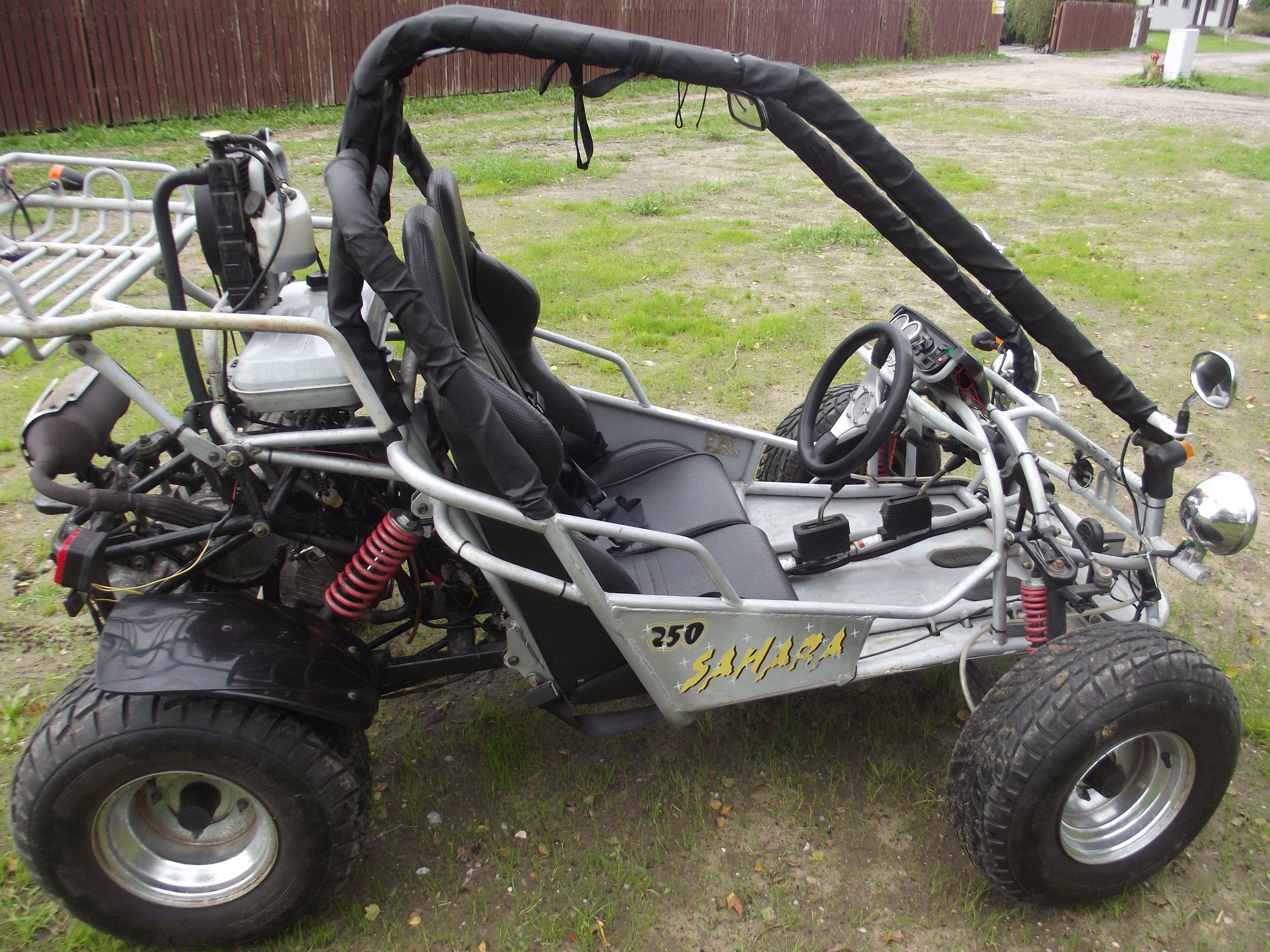 Quad buggy sahara kinroad zarejestrowany - 7174443474