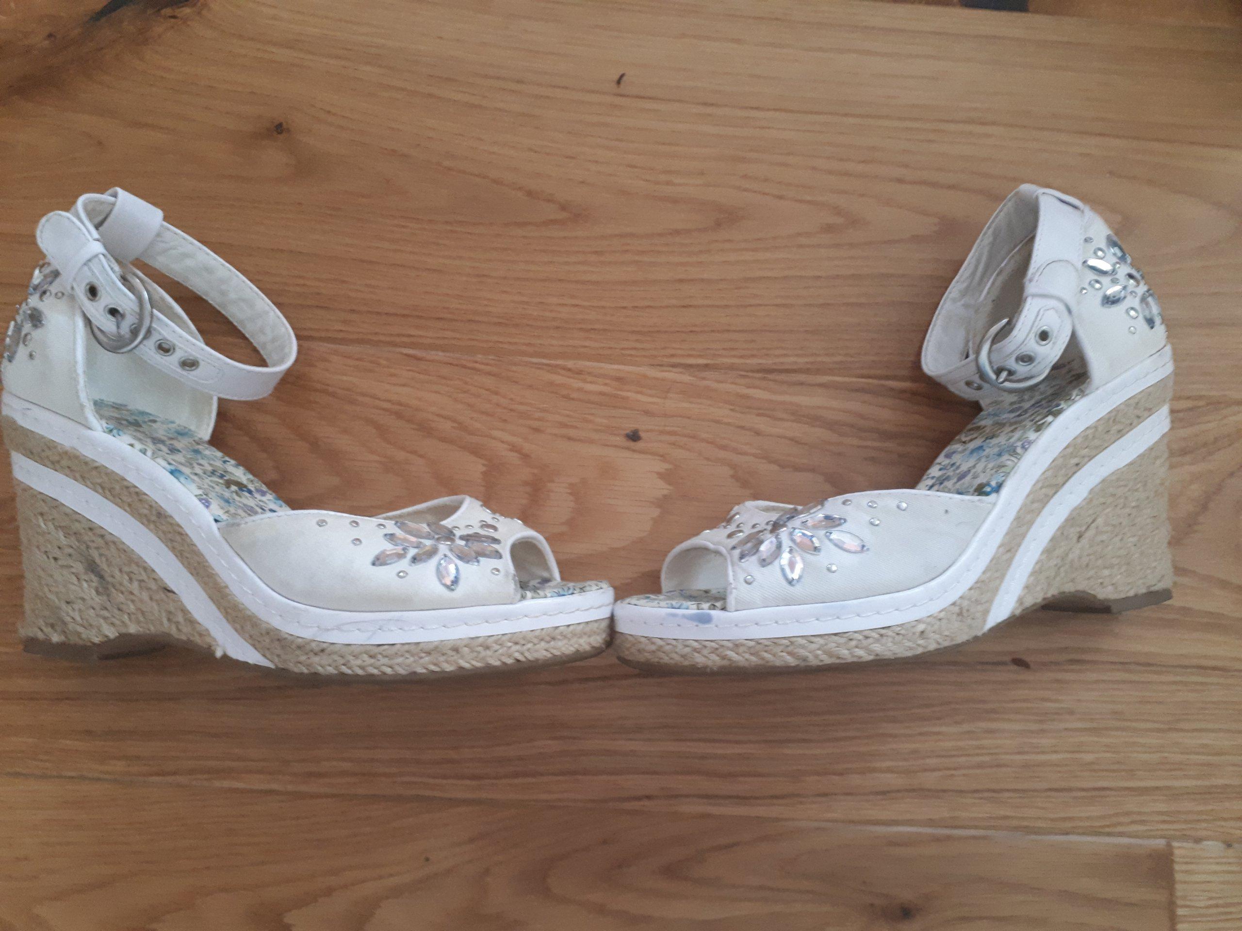 sandały na koturnie dla dziewczynki 34 graceland