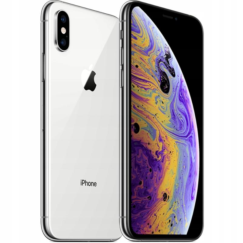 Apple IPHONE Xs 512GB Silver PL DYST! GWAR!