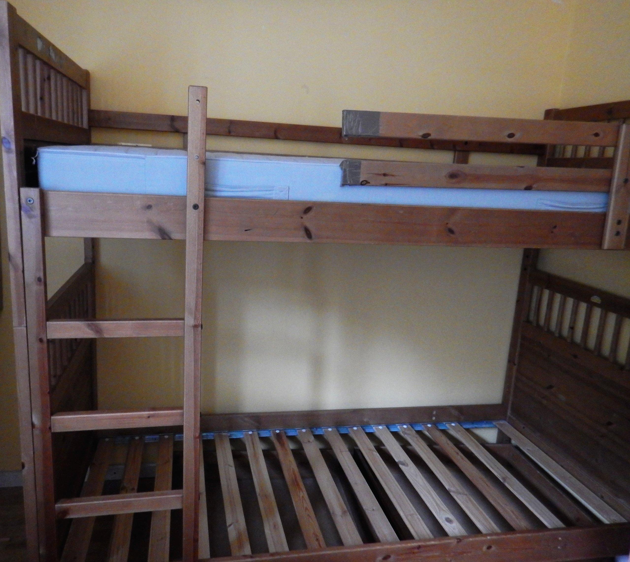 Ikea Hemnes łóżko Piętrowe2 Pojedyncze Szuflady