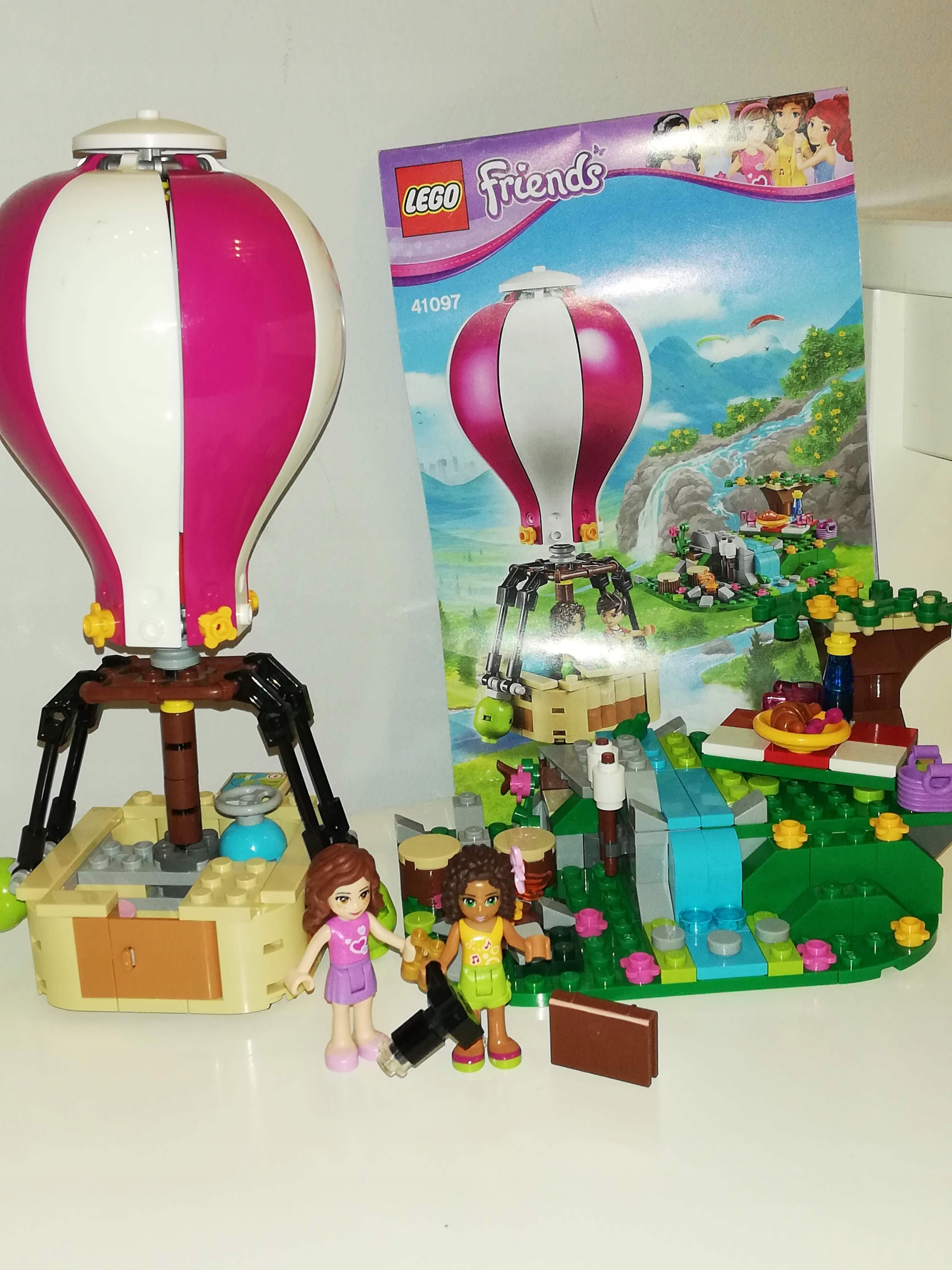 Lego Friends 41097 Balon W Heartlake 7687325240 Oficjalne