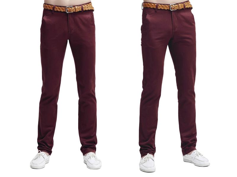 b6114af14dccf CHINOSY Casualowe Spodnie Męskie 210/005 90 cm/36 - 7054573610 ...