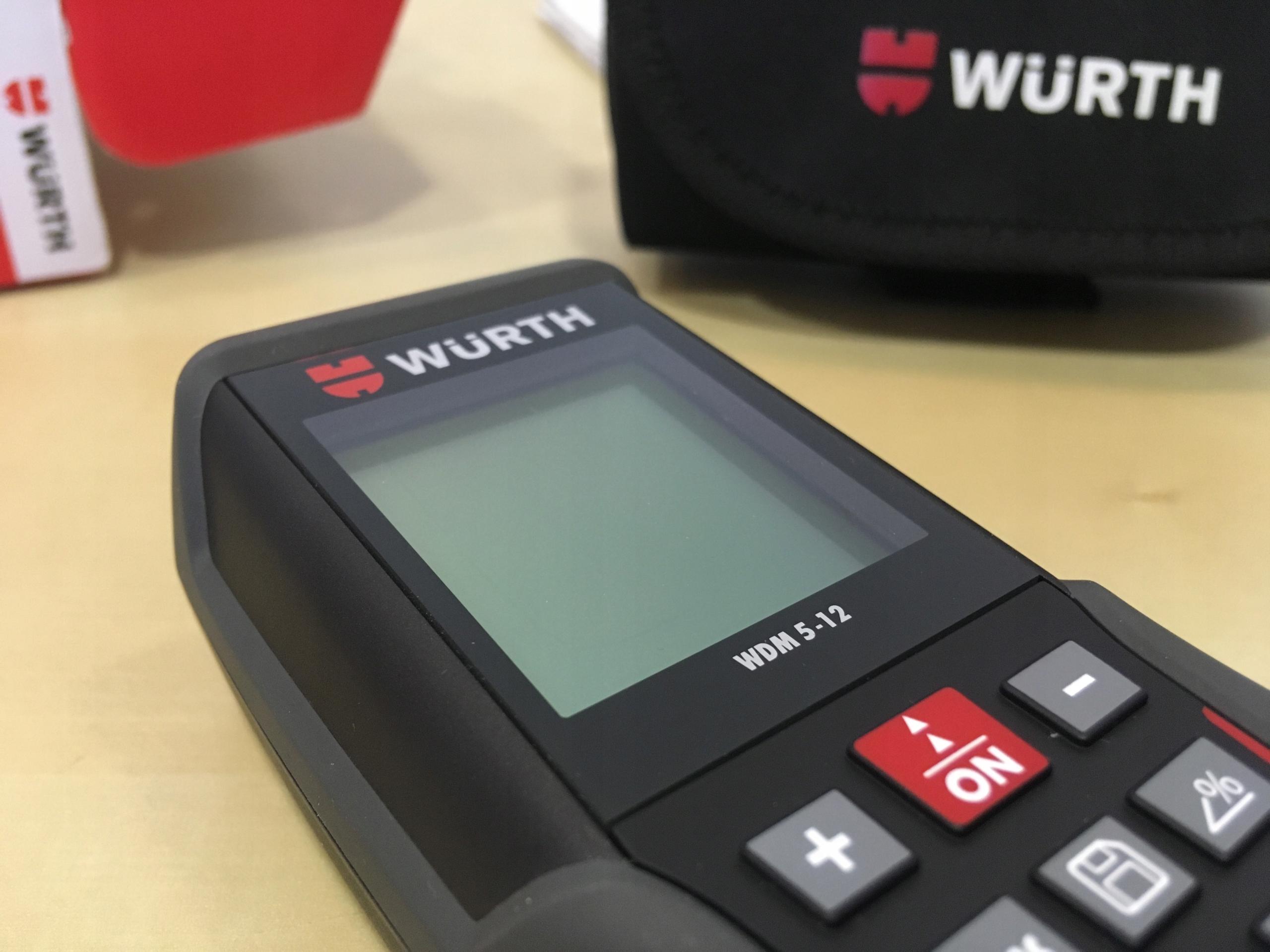 Dalmierz laserowy wurth wdm  oficjalne archiwum