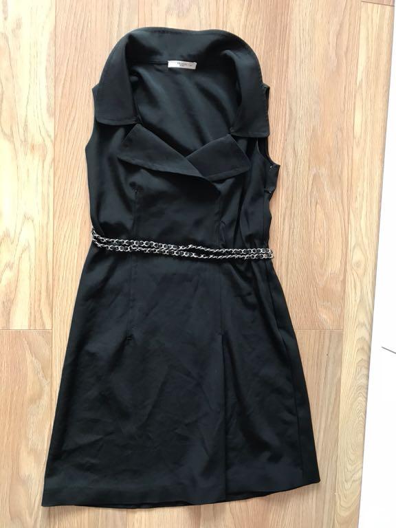 50bbe5c54440e Prada Milano ekskluzywna klasyczna sukienka 42/44 - 7206046540 ...
