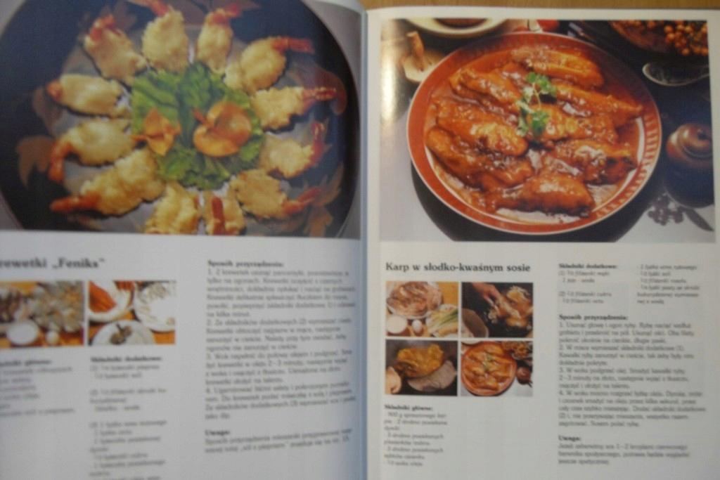 Kuchnia Chińska Książka Kucharska Potrawy Przepisy 7424274046