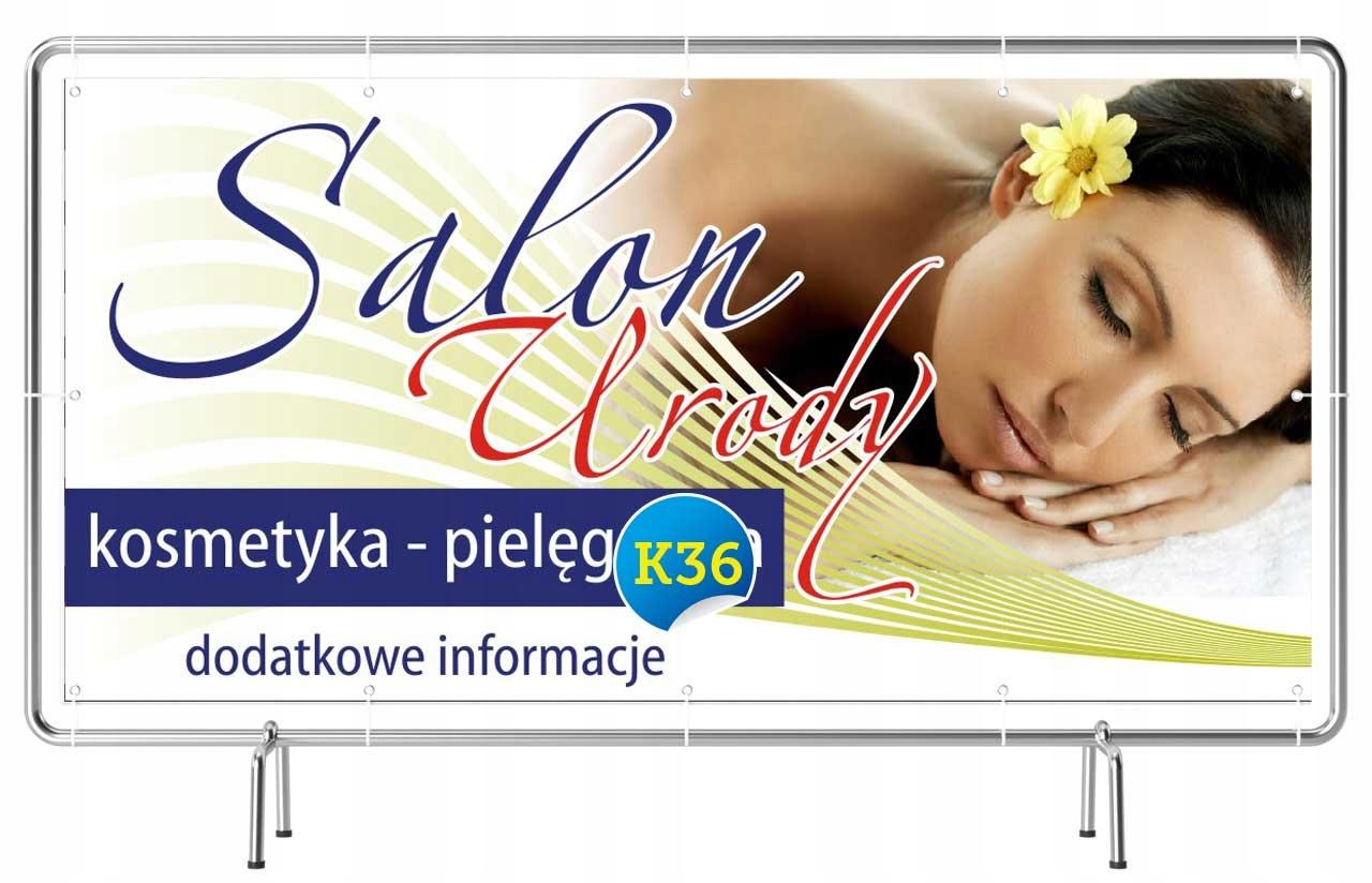 Hit Solidny Baner Reklama 2x1m Salon Fryzjerski 7017025997