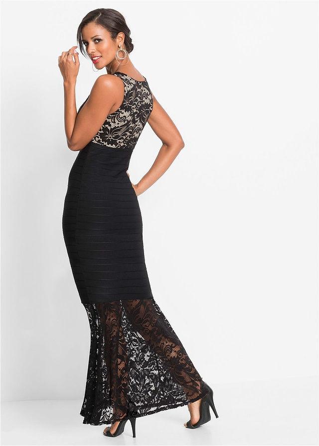 0a962771adb6c3 Sukienka wieczorowa z czarny 44/46 XXL/3XL 938828 - 7437692561 ...