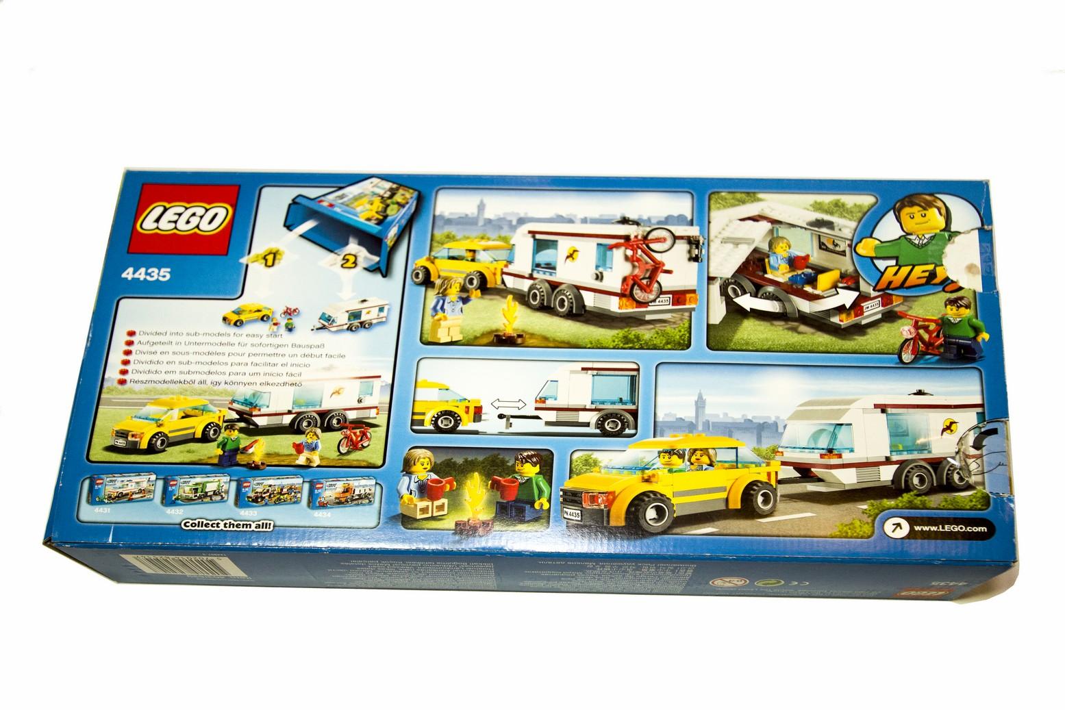 Lego City 4435 Samochód Z Przyczepą Kempingową 7437810772