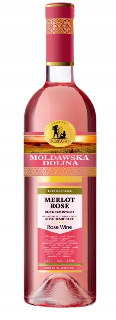 Moldawska Dolina Rose Semi Sweet !