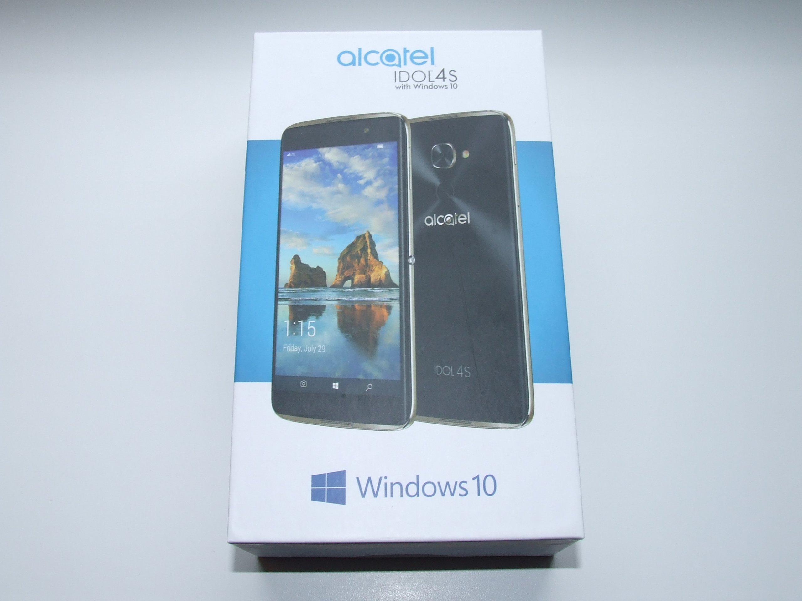 Alcatel Idol 4S Windows 10