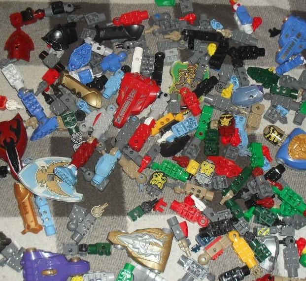 LEGO KNIGHTS duże elementy elementy kg =RT=1