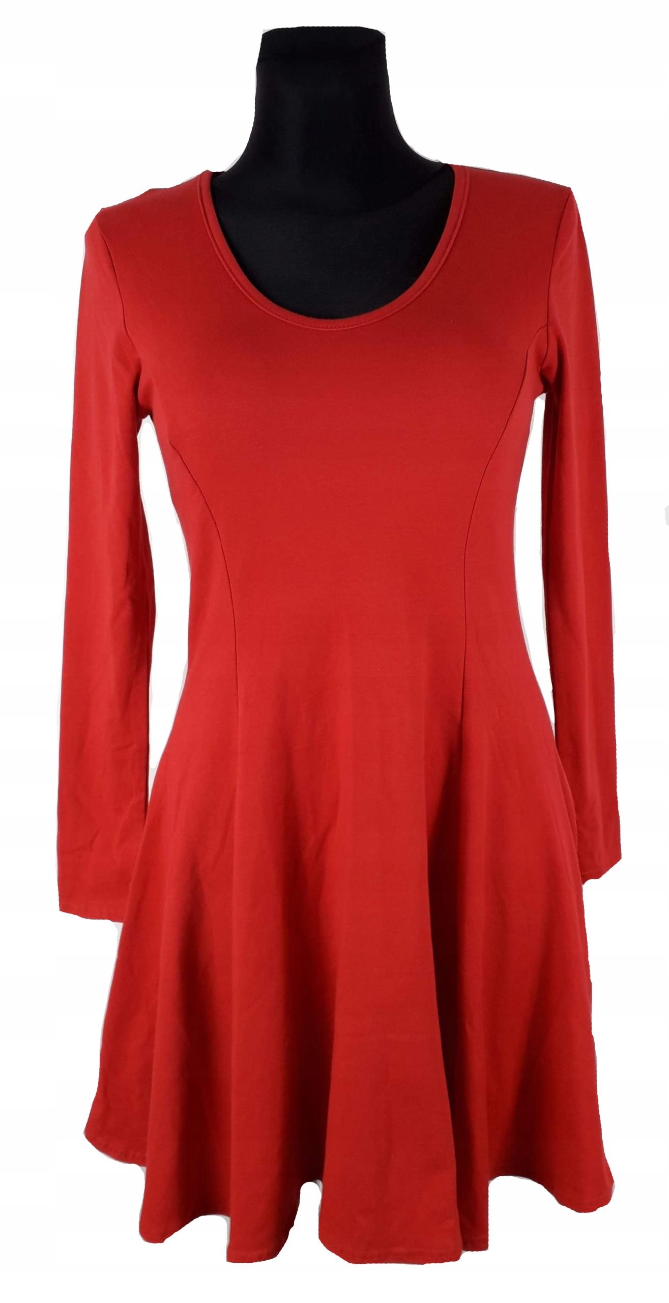 b1c778cf Sukienka czerwona Boohoo rozmiar 38 M nowa - 7687569918 - oficjalne ...