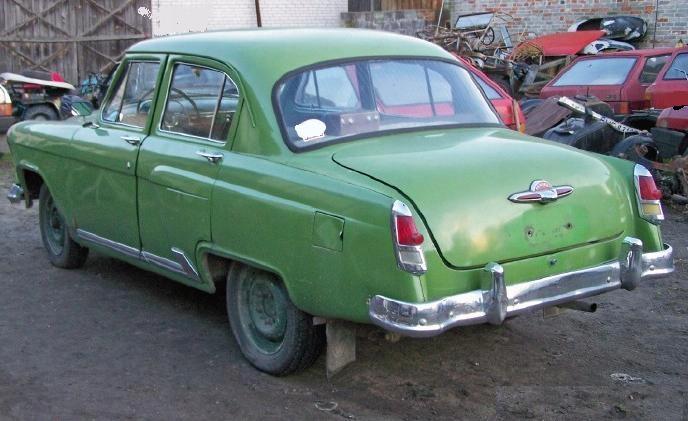 WOŁGA GAZ M21 1958 100% oryginal Zdrowa Ciekawa