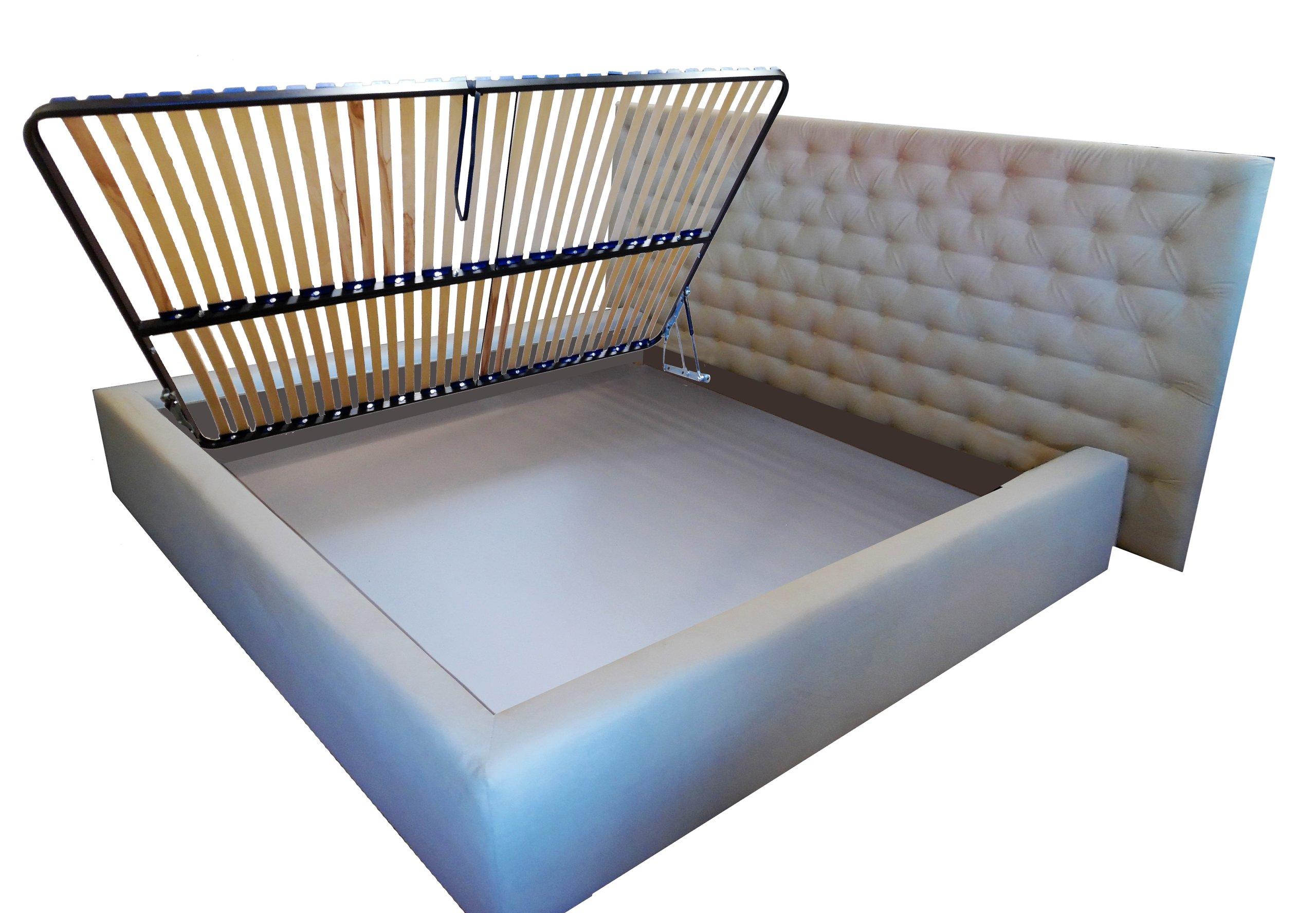 Podnoszony Stelaż Boczny Do łóżka 200x200 Nswlbok
