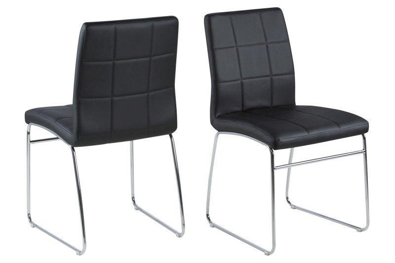 Justin Krzesło Ekoskóra Czarne Producent Actona 7184288174
