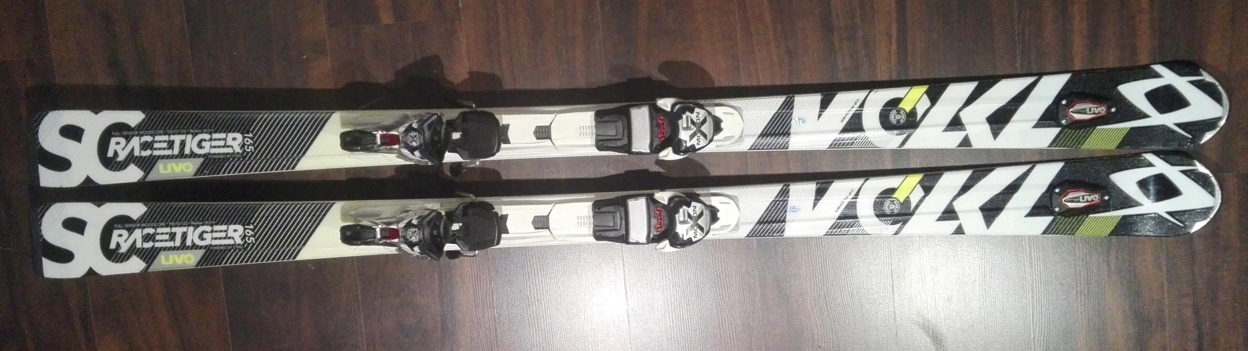 Narty Volkl Racetiger SC UVO 165cm