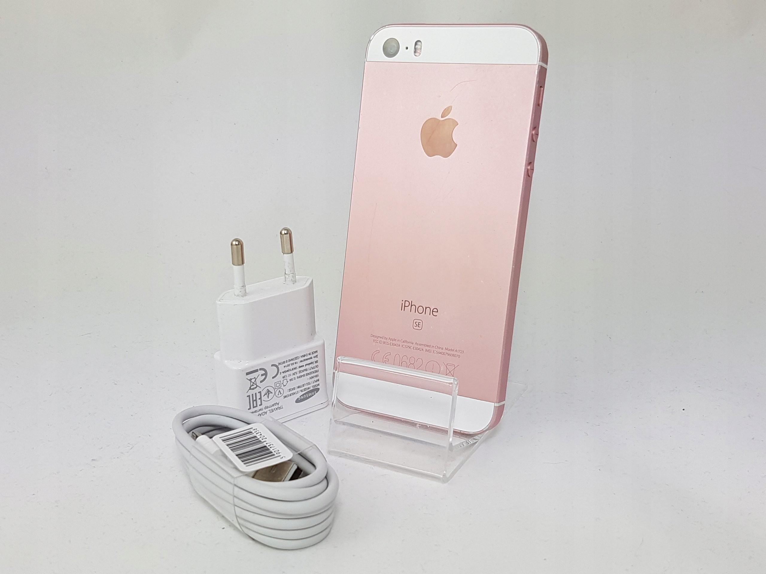 Apple Iphone Se 64gb Rose Gold A1723 24h Fv23 7400349776