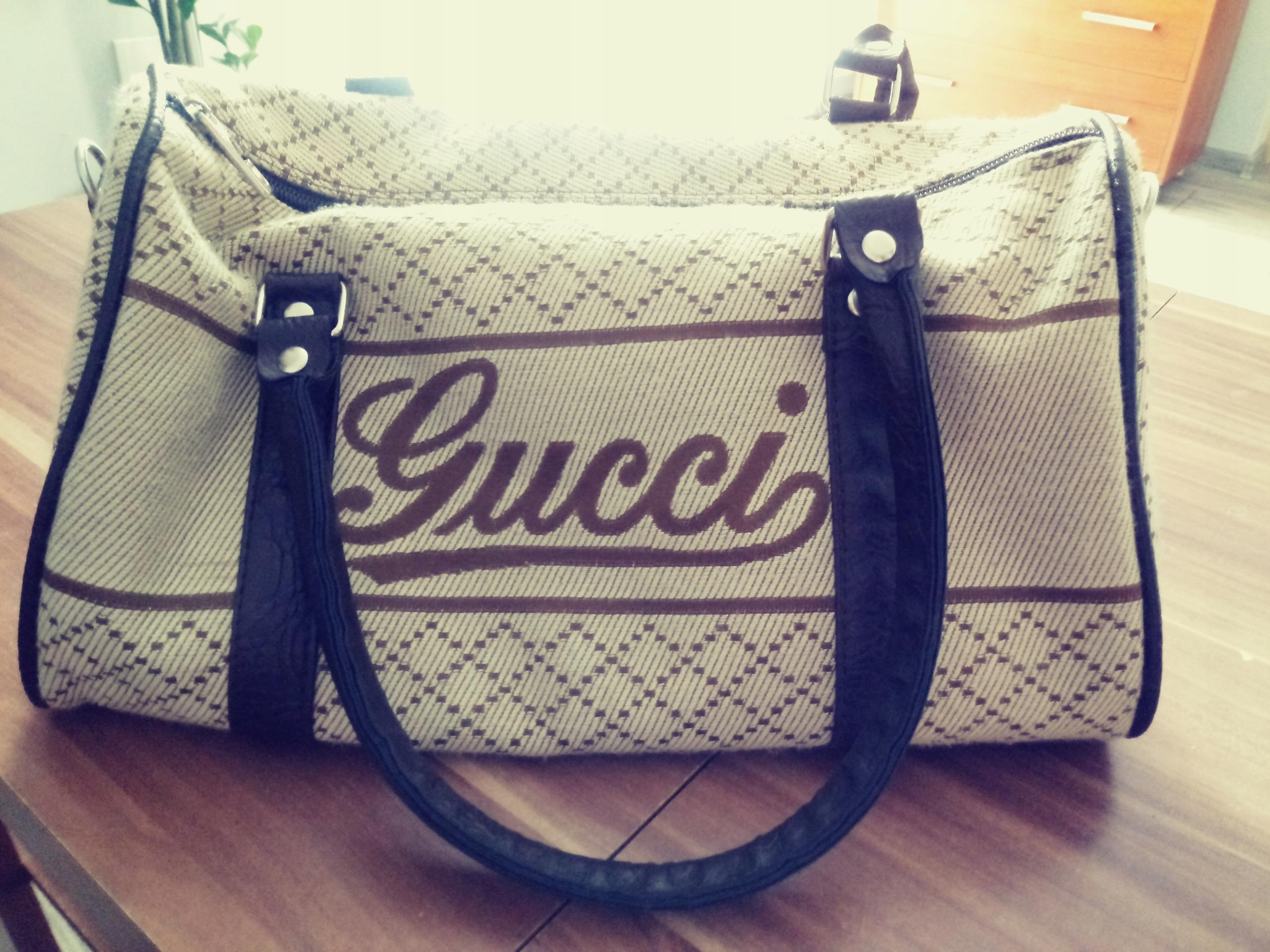 5723ac5e2e5a9 Kolekcjonerska torebka kuferek Gucci - 7479107973 - oficjalne ...