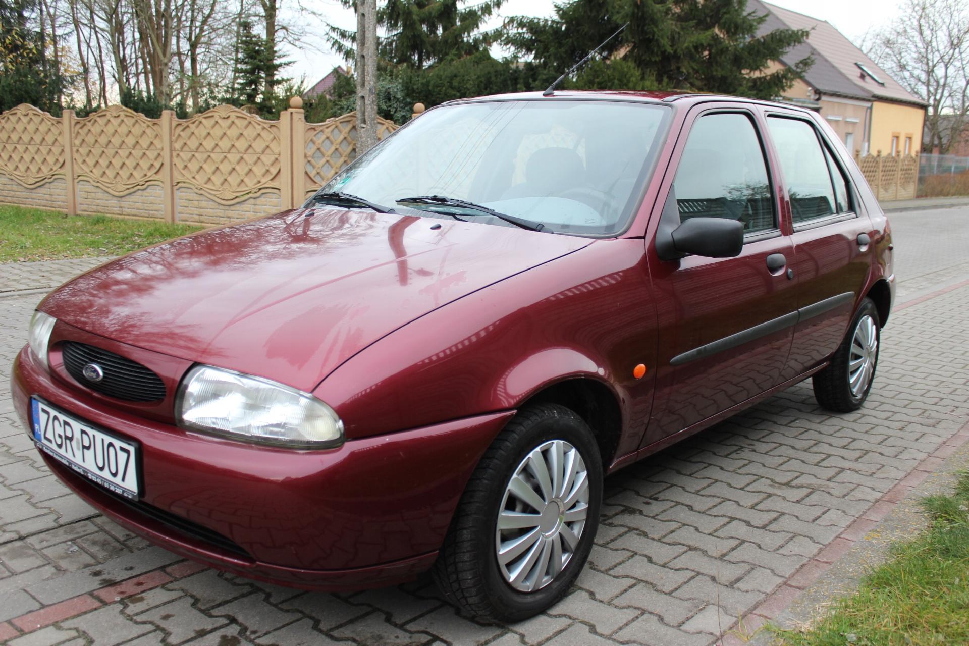 Ford Fiesta MK4 1.3 Benz. 5 drzwi Klimatyzacja