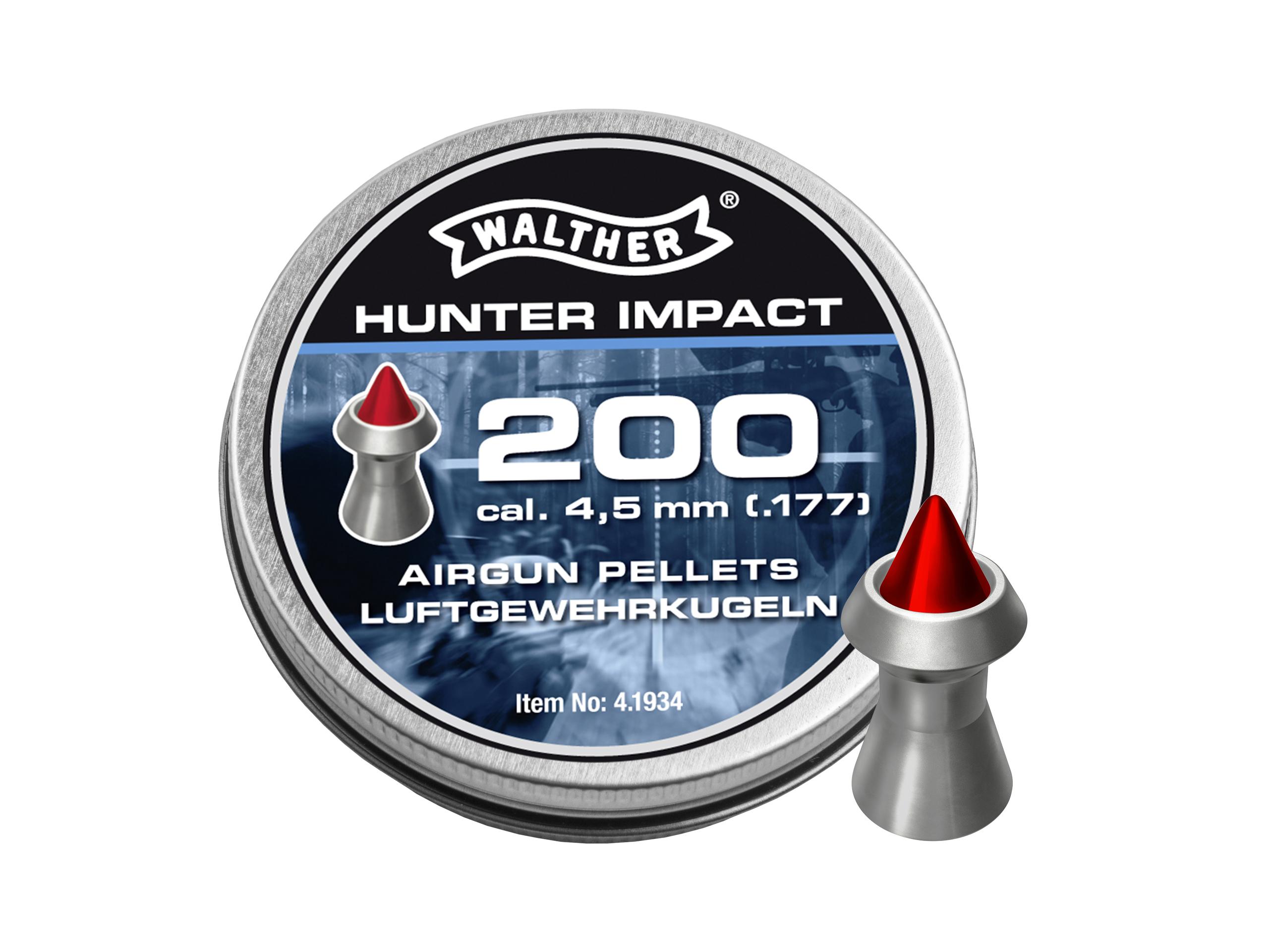 Śrut WALTHER 4.5 mm Hunter Impact 200 szt.