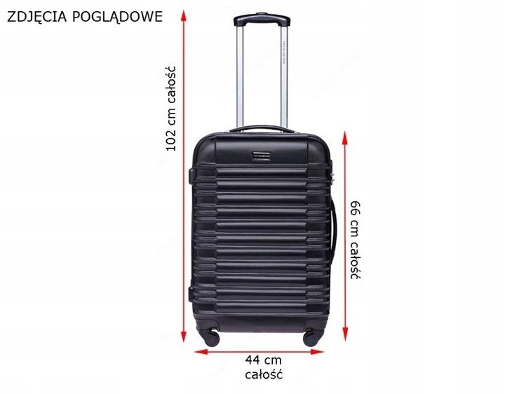 75733d9aa6bba Bagaż kolorowa walizka 24 POJEMNA wakacyjny wyjazd - 7687716899 ...