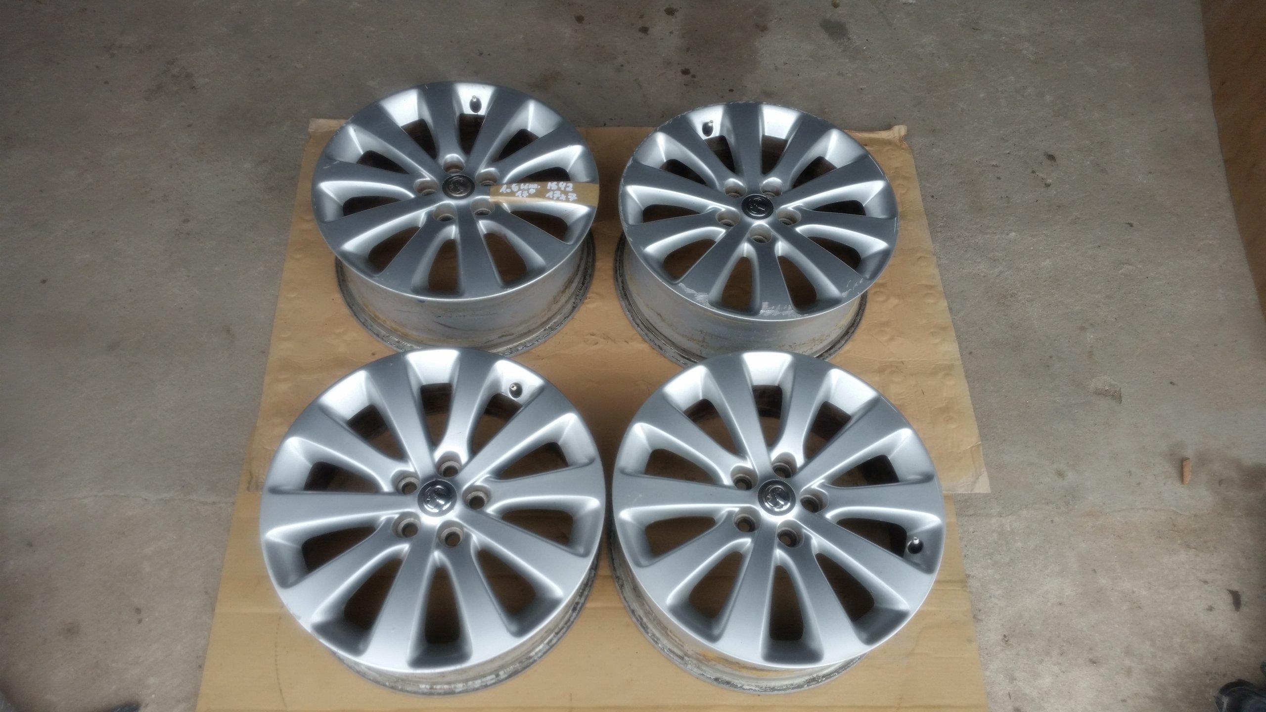 Felgi Aluminiowe 17 Opel Astra J Iv 5x105 7058720799 Oficjalne