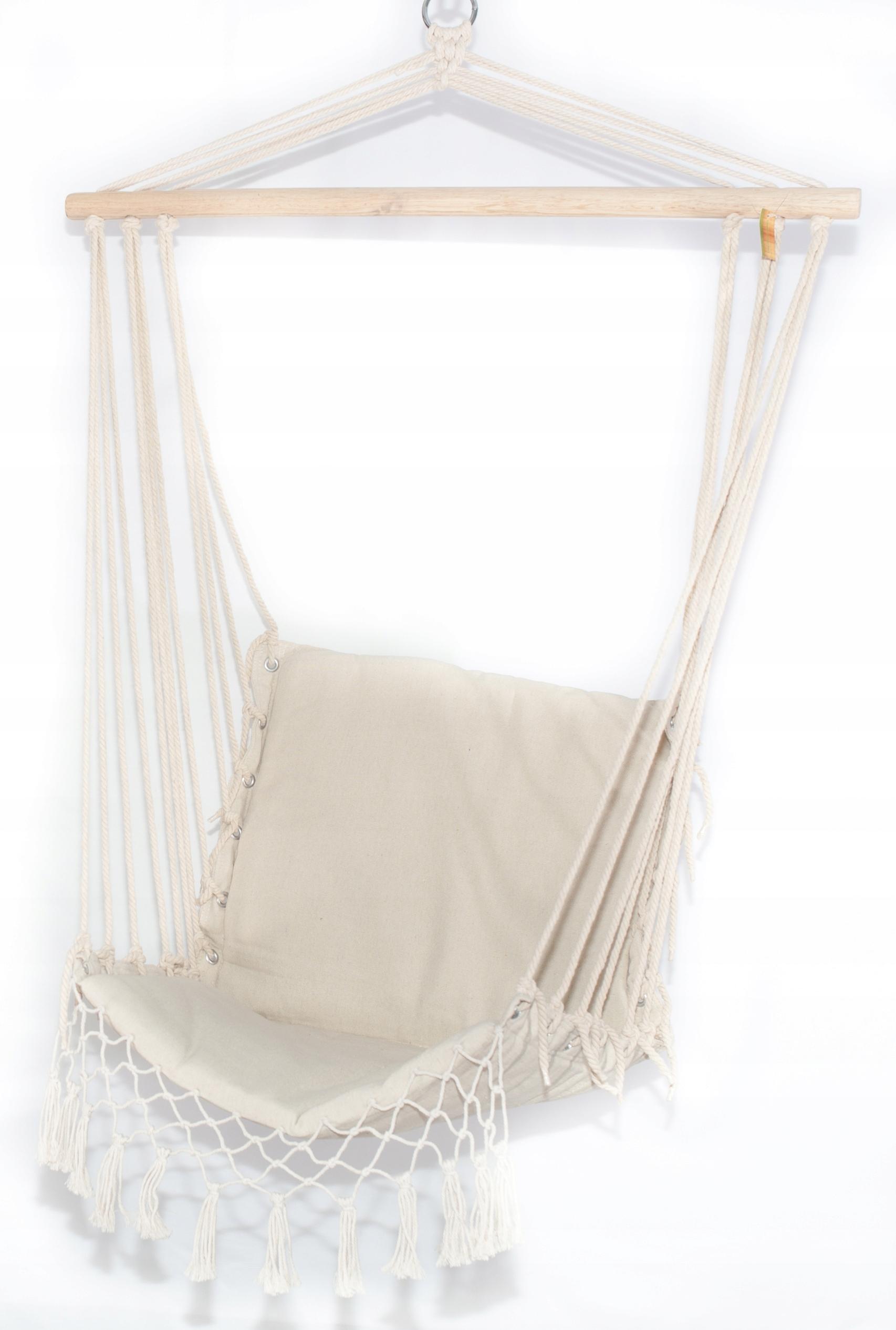 Krzesło Wiszące Brazylijskie Fotel Huśtawka Hamak