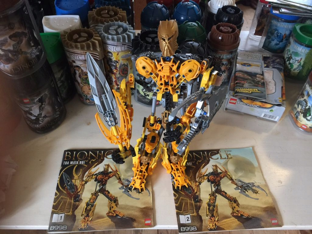 Lego Bionicle 8998 Toa Mata Nui 7453636589 Oficjalne Archiwum