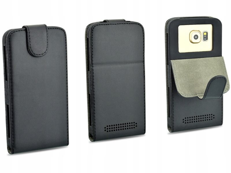 Etui czarne do telefonu Alcatel One Touch Go Play