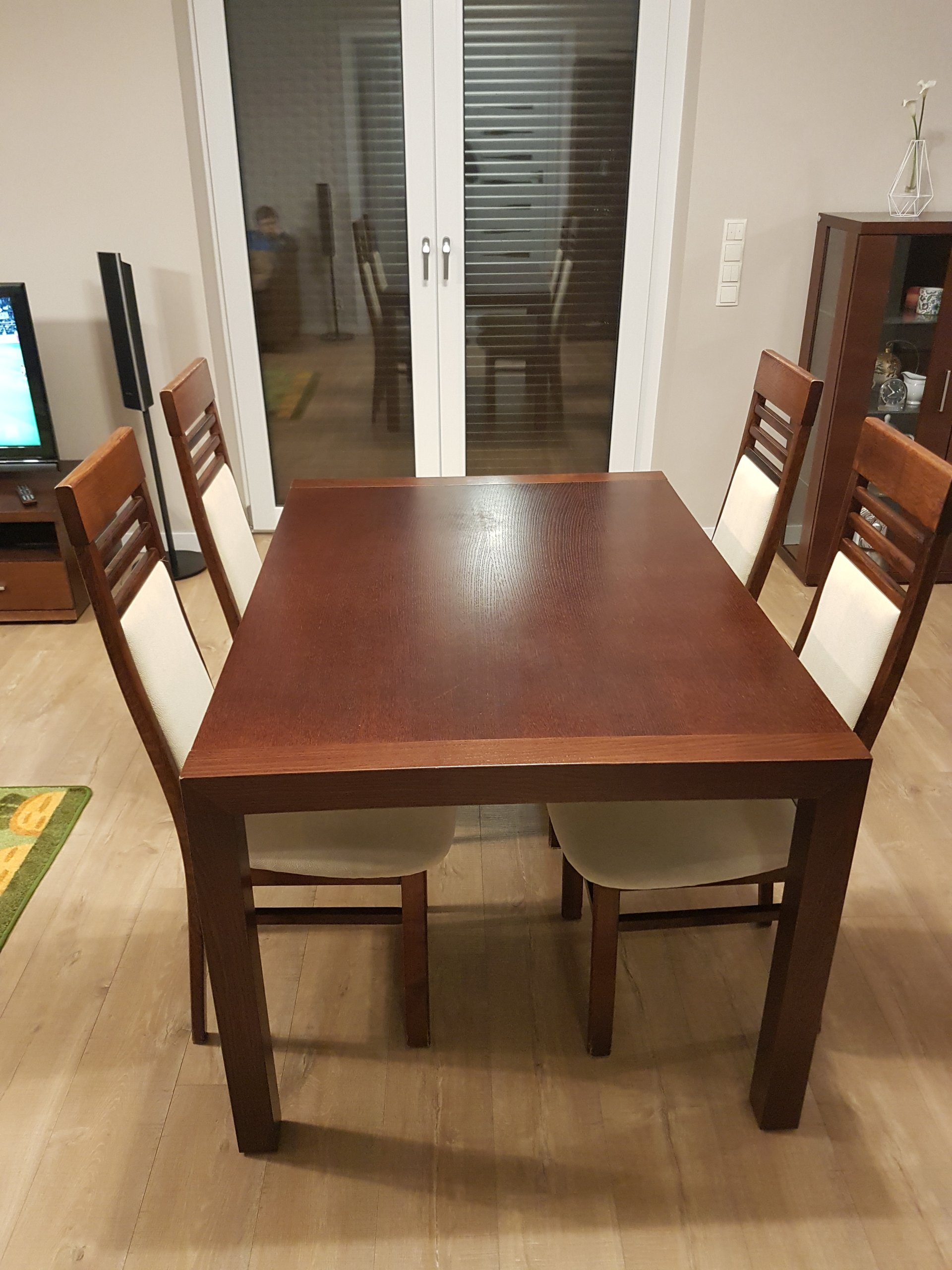 Stół 4 Krzesła Komplet Bydgoskie Meble 7210879251
