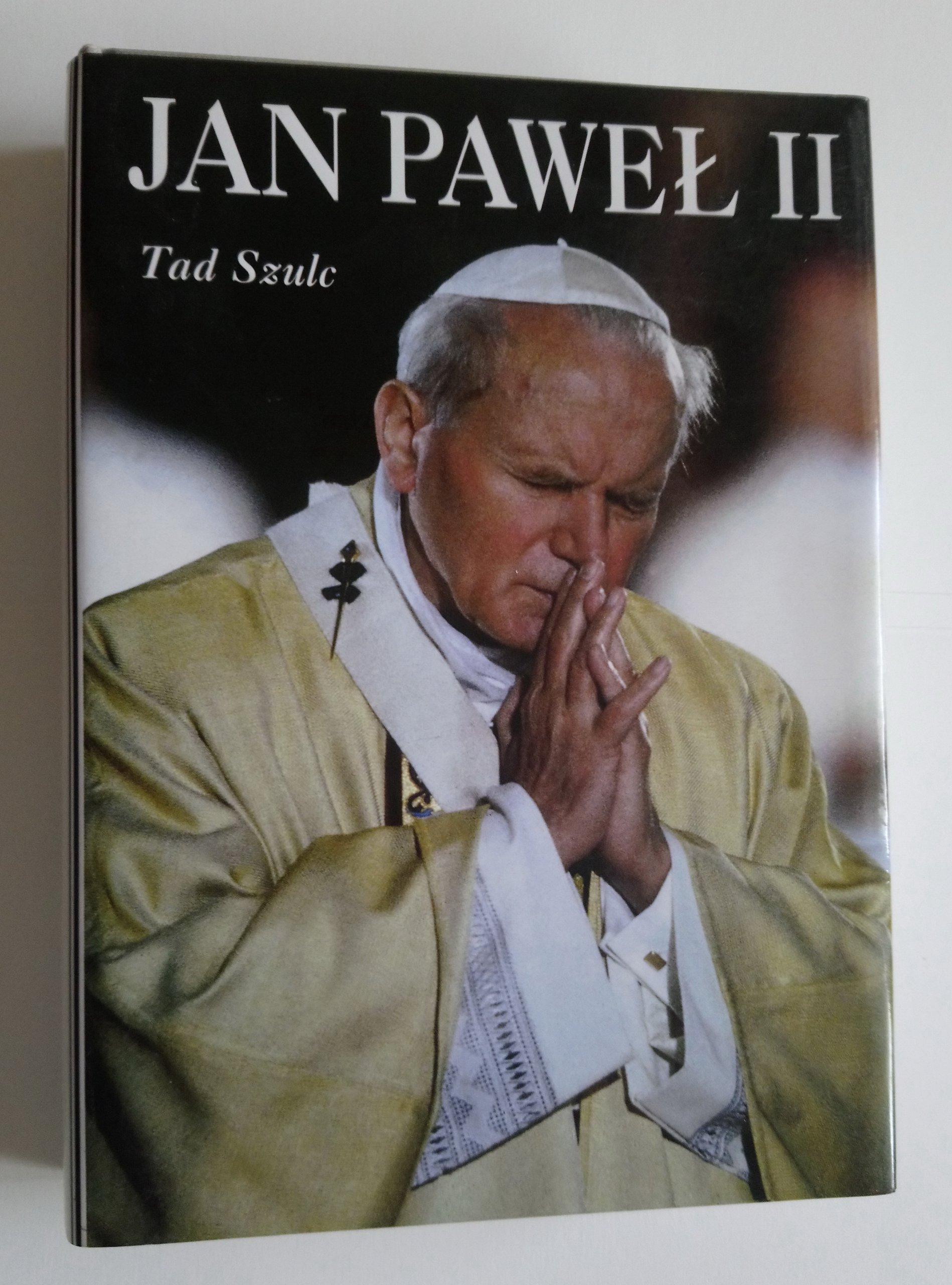 Jan Paweł Ii Tad Szulc Biografia Nowa 2x Obwoluta 7317821490