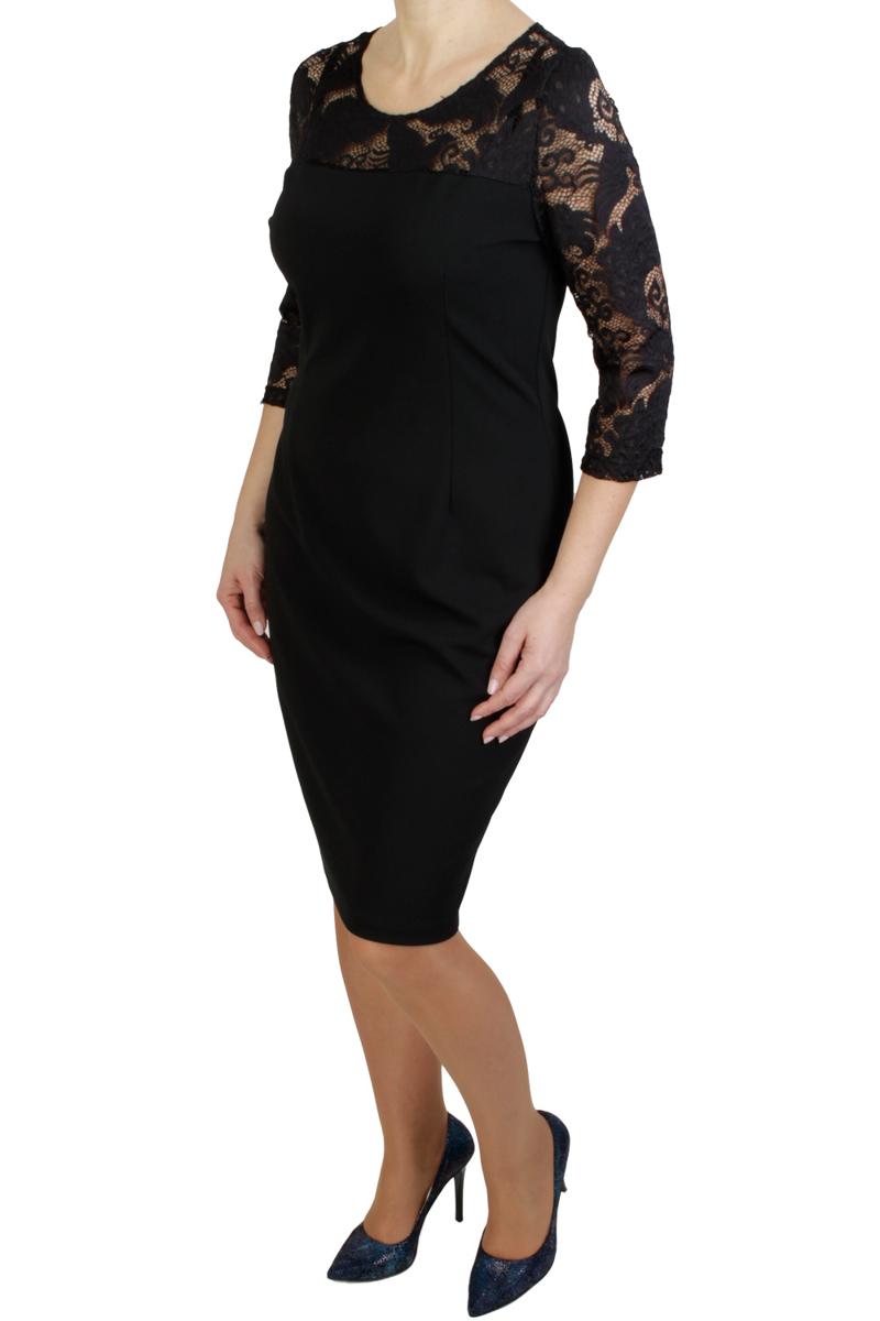 4cfdbe18f0 Elegancka sukienka dla puszystej PLUS SIZE 46 HIT! - 7124120932 ...