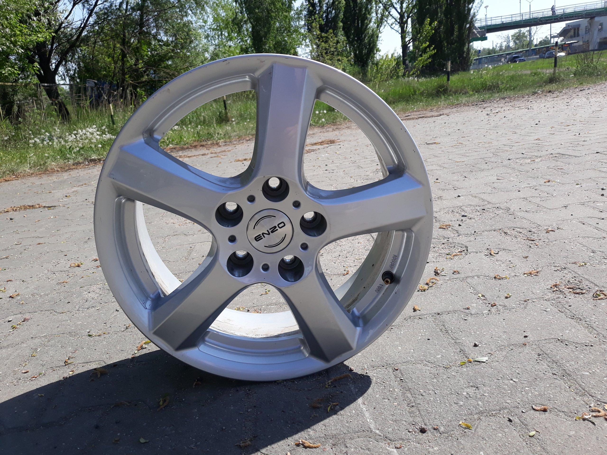 Felgi Aluminiowe Enzo 16czujniki śruby Szczecin 7339326523