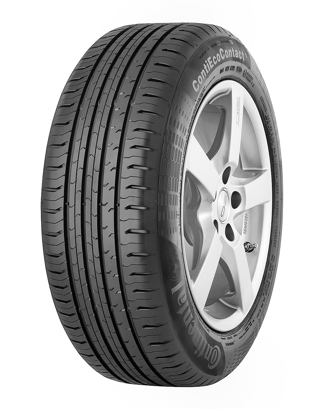 4x Continental ContiEcoContact 5 205/55 R16 94H XL