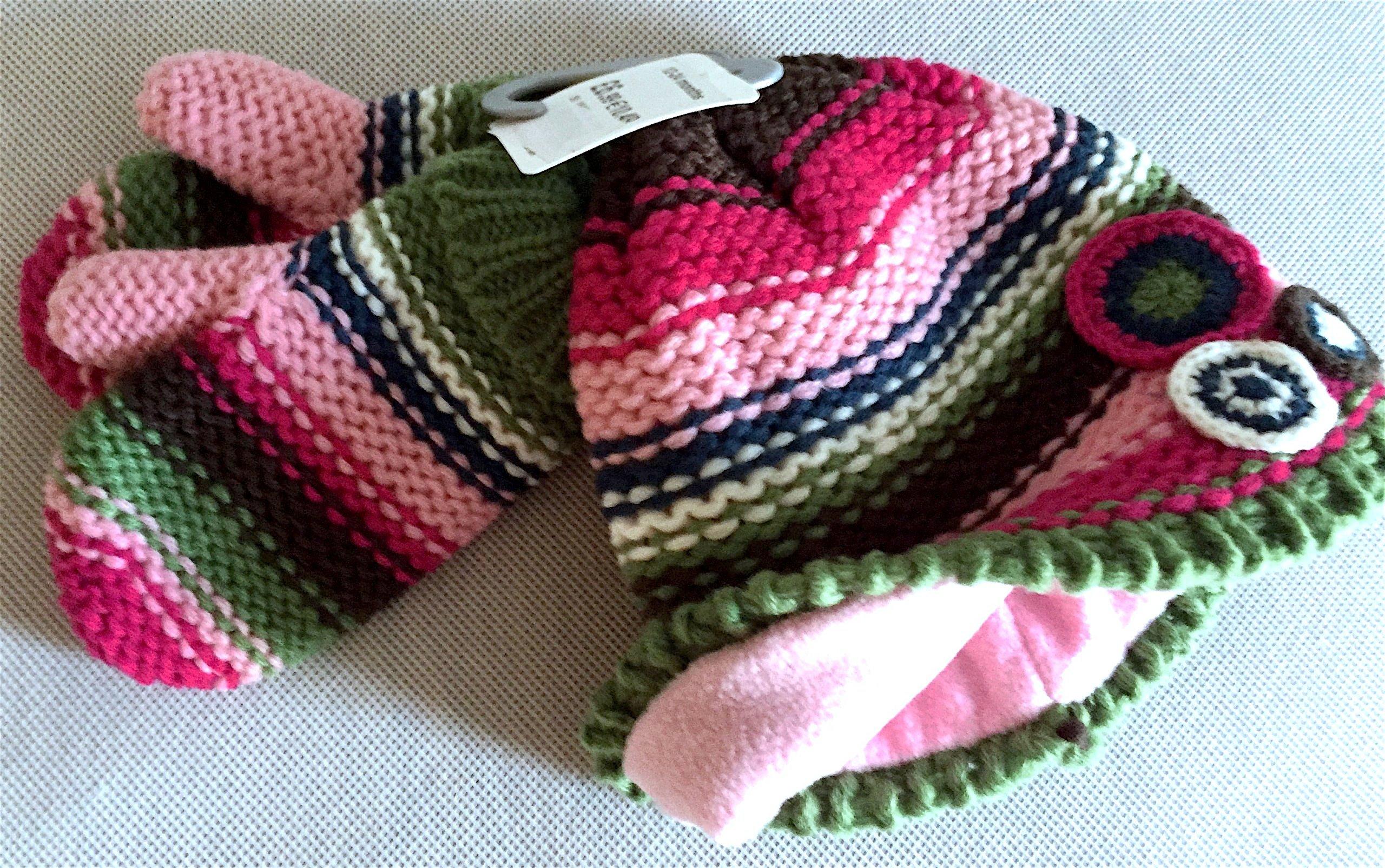 ADAMS Baby CZAPKA + Rękawiczki 12-24 m-ce