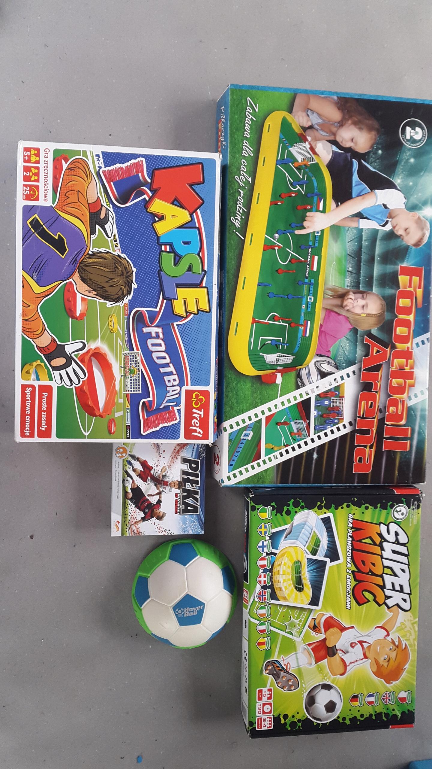 zestaw gier temetyka piłka nożna 5 sztuk