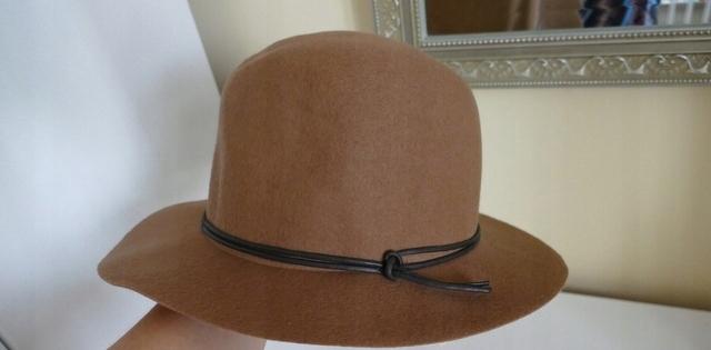 94e932a26 Raffaello Bettini kapelusz brąz 100% wełna - 7506381640 - oficjalne ...