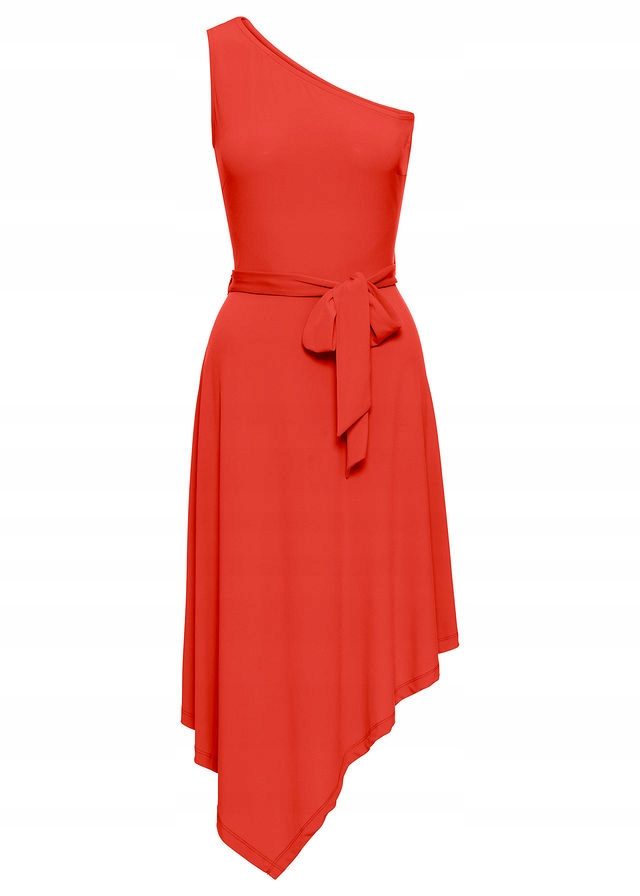 11515aa7ff Sukienka na jedno r pomarańczowy 36 38 S M 922854 - 7662371945 ...
