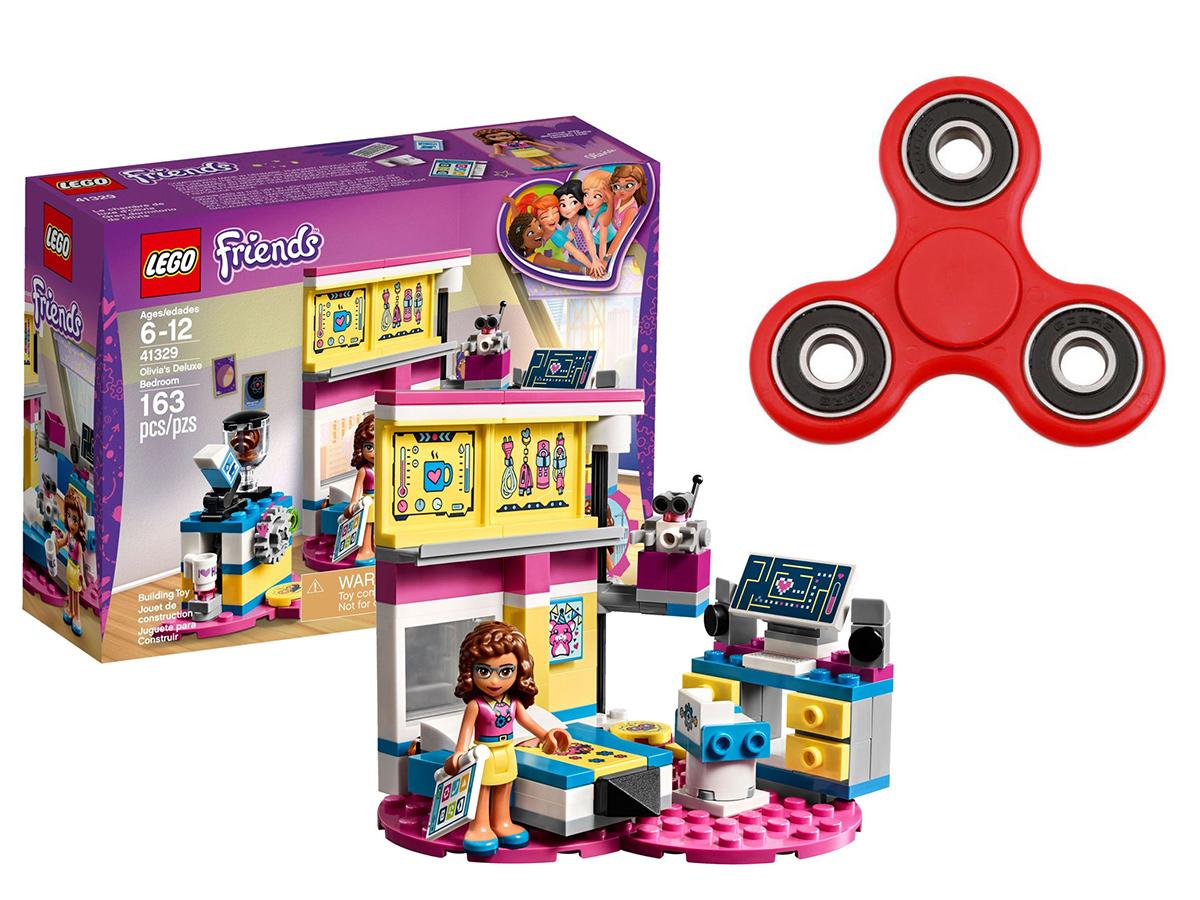 Lego Friends Sypialnia Olivii 41329 Spinner 7129844872
