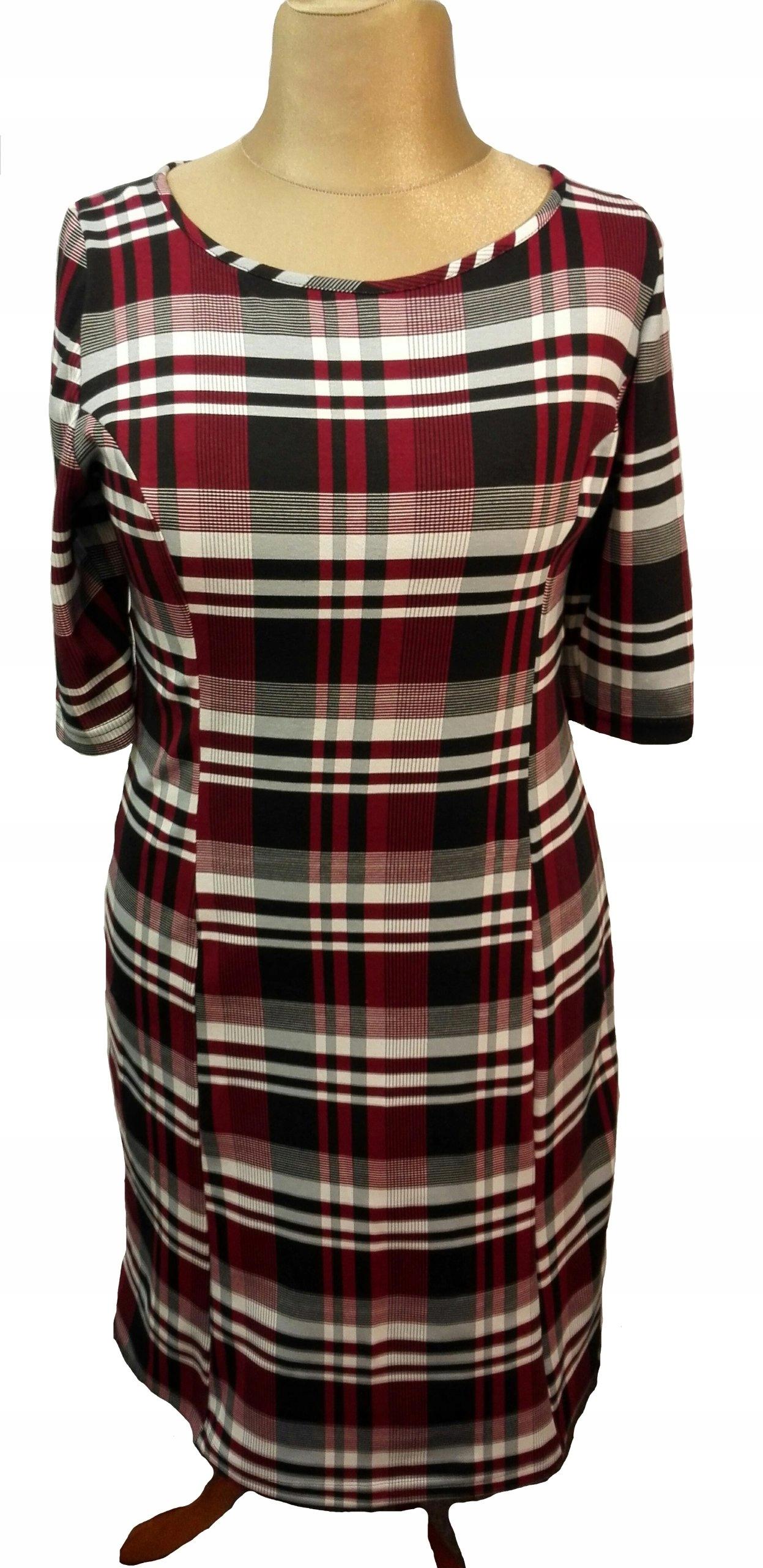 fa9f60f2ae Sukienka dresowa 44 - 46 DUŻE ROZMIARY - 7405555600 - oficjalne ...