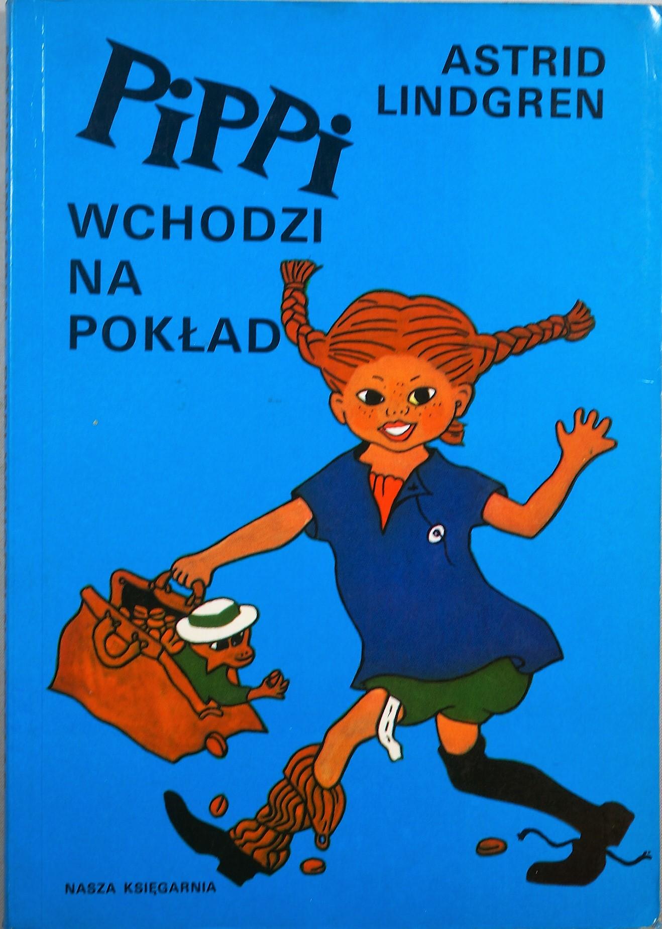 Znalezione obrazy dla zapytania Astrid Lindgren : Pippi wchodzi na pokład