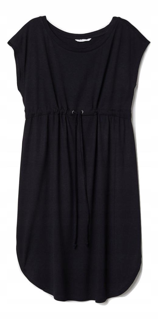 8d8c41cd6e H M MAMA sukienka ciążowa czarna luźna 42 XL - 7606482616 ...