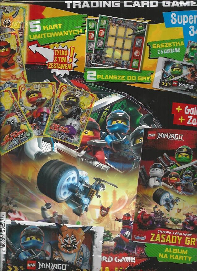 Chwalebne ZESTAW STARTOWY karty LEGO NINJAGO seria 3 - 7240320974 JJ58